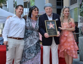 Stacy Keach honored with star on the Hollywood Walk of Fame in Los Angeles