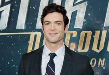 Ethan Peck  at the 'Star Trek: Discovery' premiere