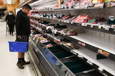 Americans Stock Up on Food and Basic Necessities During COVID-19 Pandemic