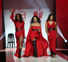 En Vogue at American Heart Association's Go Red For Women Show