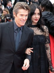 Willem Dafoe and Giada Colagrande attend the Cannes Film Festival