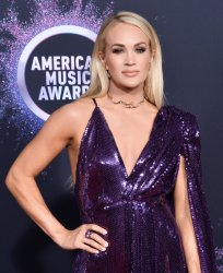 Carrie Underwood attends American Music Awards in LA