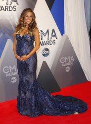 Jana Kramer arrives at the 49th Annual CMA Awards