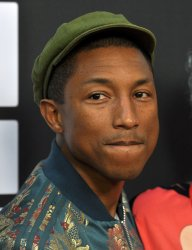 Pharrell Williams attends the Los Angeles premiere of 'Dope'