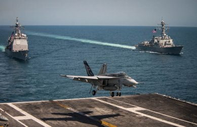 U.S. Navy Patrols Western Pacific with Support from Republic of Korea