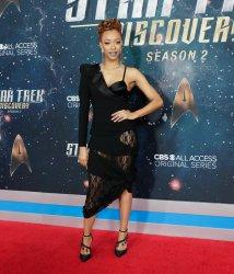 Sonequa Martin-Green at the 'Star Trek: Discovery' premiere