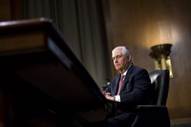 Rex Tillerson Secretary of State Confirmation Hearing in Washington, D.C.