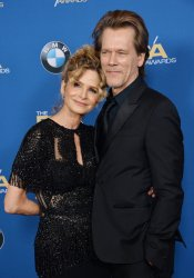 Kyra Sedgwick and Kevin Bacon attend the 70th annual DGA Awards in Beverly Hills