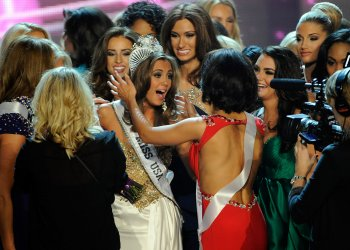 Erin Brady crowned Miss USA at the 2013 competition in Las Vegas
