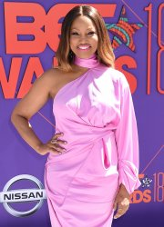 Garcelle Beauvais attends the 18th annual BET Awards in Los Angeles