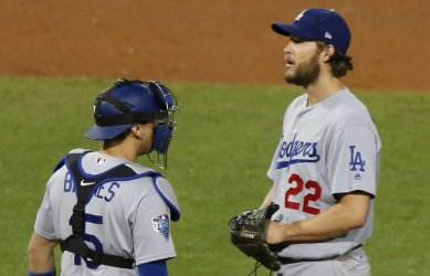 Dodgers starting pitcher Clayton Kershaw relieved during World Series Game 1