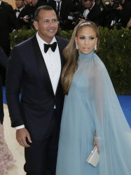 Alex Rodriguez and Jennifer Lopez at the Met Costume Benefit