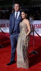 """Channing Tatum and Jenna Dewan-Tatum attend the """"Hail, Caesar!"""" premiere in Los Angeles"""