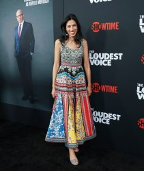 """Huma Abedin at """"The Loudest Voice"""" New York Premiere"""