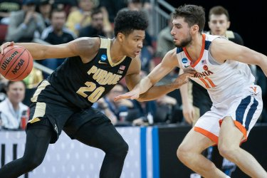 Purdue vs Virginia in the NCAA Championships