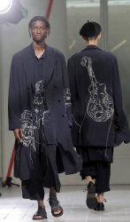 Yohji Yamamoto Fashion in Paris