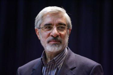 Iran's reformist president candidate Mousavi's campaign tour