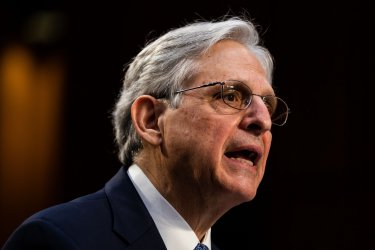 Senate Judiciary Confirmation hearing for Attorney General Nominee Merrick Garland in Washington