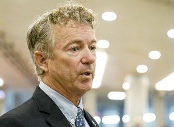 Senator Rand Paul at the U.S. Capitol