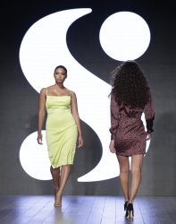 Serena by Serena Williams fashion show at NYFW