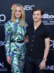 Sophie Turner and Tye Sheridan attend the 2019 Billboard Music Awards in Las Vegas