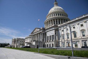 Fencing Around US Capitol