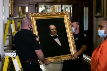 Portraits of Former Confederate House Speaker James Orr is Removed From US Capitol