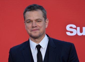 """Matt Damon attends the """"Suburbicon"""" premiere in Los Angeles"""