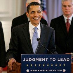 Barack Obama speaks at a news conference in Chicago