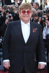 Elton John attends the Cannes Film Festival