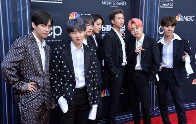 BTS attends the 2019 Billboard Music Awards in Las Vegas