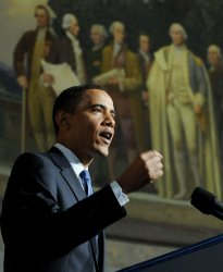 Obama outlines national security vision in Washington
