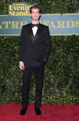 Andrew Garfield attends the Evening Standard Theatre Awards at Theatre Royal, London.