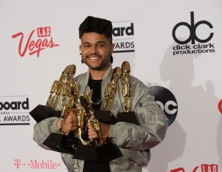 Singer The Weeknd wins 8 Awards at the Billboard Music Awards in Las Vegas