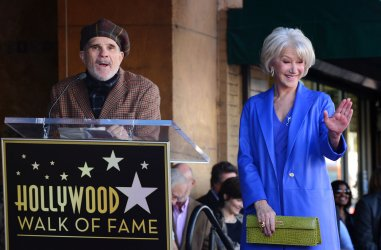 Helen Mirren receives a star on the Hollywood Walk of Fame in Los Angeles