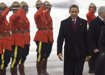 U.S. President Barack Obama's first official foreign visit is to Canada