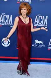 Reba McEntire attends the Academy of Country Music Awards in Las Vegas