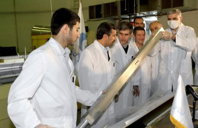 Iran Unveils Three Nuclear Projects