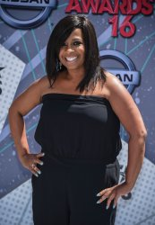 Sandi McCree attends the BET Awards in Los Angeles