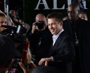 """Brad Pitt attends the """"Allied"""" premiere in Los Angeles"""