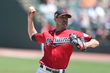 Indians Bieber pitches against the Twins