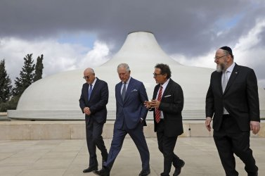 World Leaders at Holocaust Forum in Israel