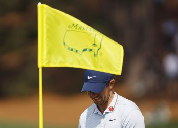 Rory McIlroy at the 2019 Masters Tournament in Augusta