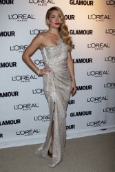 Kate Hudson arrives for Glamour Magazine's 20th Annual Women of the Year Awards in New York