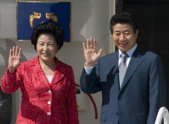 KOREAN PRESIDENT ROH MOO-HYUN VISITS SEATTLE