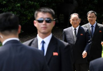 North Korean official delivers letter from Kim Jong Un to President Trump