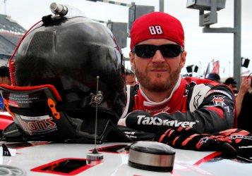 Dale Earnhardt Jr Preparing for Xfinity Series Race at Daytona International Speedway