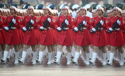 Chinese Celebrate 70th Anniversary of the  People's Republic of China in Beijing