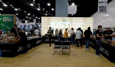 CBD Expo at the Miami Convention Center in Miami Beach