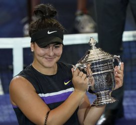 Bianca Andreescu, of Canada, wins at US Open